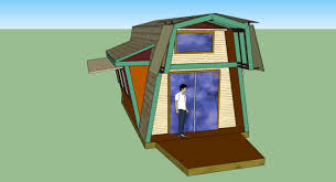 building a gambrel roof tiny gambrel a frame