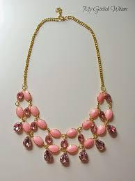 best 25 pink statement necklaces ideas on pinterest pink
