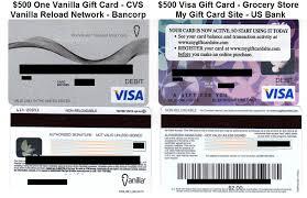 bancorp bank prepaid cards 500 ovgc and vgc