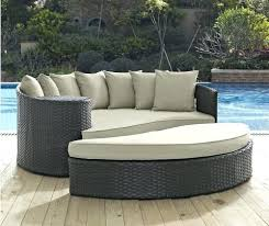 Outdoor Daybed With Canopy Wicker Patio Daybed U2013 Heartland Aviation Com
