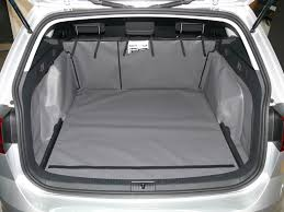 volkswagen golf trunk volkswagen golf estate mk7 2013 onwards boot liner hatchbag