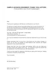 acknowledgement letter sample letters with must form template word