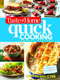 shop taste of home taste of home quick cooking annual recipes