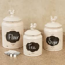 white kitchen canister antique white kitchen canisters new home design where to find