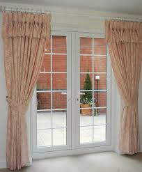pink floral kitchen curtains rare window treatment for french door