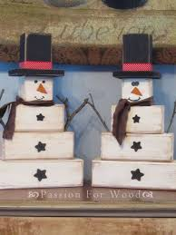 wooden snowman 10 great christmas crafts wooden snowmen snowman and