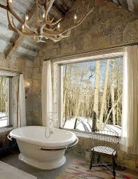 rustic bathroom tile designs polished gold colorado style on 2
