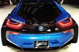 Bmw I8 Blue - west coast customs boss drives a beautiful protonic blue bmw i8