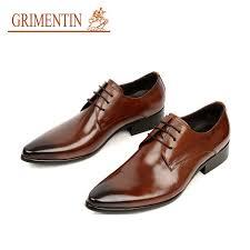 wedding shoes office grimentin fashion italian designer formal mens dress shoes genuine