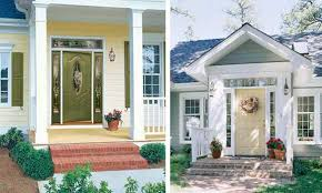 house front door exterior wood door decorating with paint to personalize house