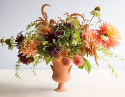 Short On Floral Inspiration Start With The Vessel Says David