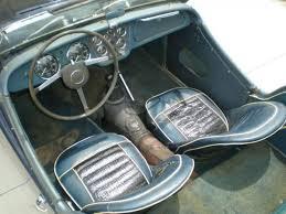 Triumph Tr3 Interior British Beater 1961 Triumph Tr3
