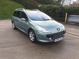 peugeot cars 2006 peugeot 307 sw se hdi 110 1 6 diesel 5 door estate 2006 year