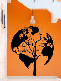 World Map Decal by Online Get Cheap Tree Map Wall Sticker Aliexpress Com Alibaba Group