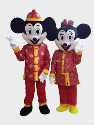 high quality mickey mouse with china dress tang suites