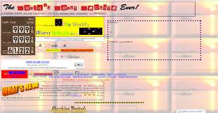 Ugliest Color 10 Worst Websites For 2013 The Ugliest Websites Ever