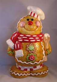 gingerbread chef cookie jar for the love of gingerbread