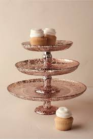 gold cake stands antiquarian gold cake stand in sale bhldn