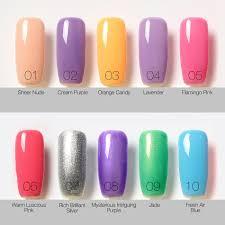 1pcs nail gel polish gel long lasting soak off gel nail led uv 6ml
