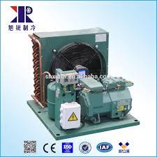 condensation chambre 3hp semi hermétique unité de condensation avec bitzer compresseur