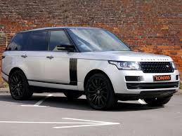 black land rover with black rims land rover range rover vogue se black pack 22 u0027 u0027 alloys