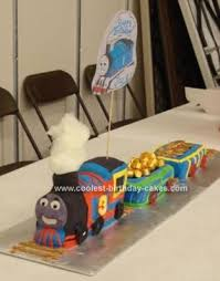 first birthday cake train birthday cake