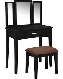 Pine Vanity Table Don U0027t Miss This Bargain Sun U0026 Pine Vanity Set Galaxy Black