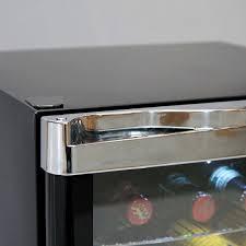 tropical mini glass door bar fridge lockable