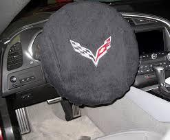 corvette steering wheel cover corvette steering wheel cover armour with c7 logo 2014