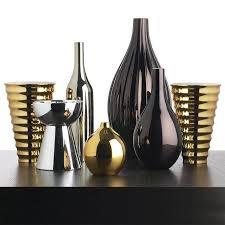 metallic home decor decorating with metallics padstyle interior design blog modern