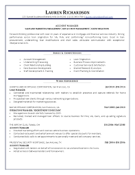 account manager resumes manager resume