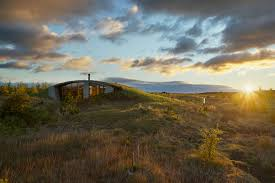 this amazing icelandic home is buried beneath the earth