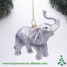2015 animated blown glass animal ornaments