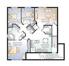 Multi Unit Floor Plans Multi Family Plan W3031 V1 Detail From Drummondhouseplans Com