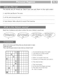 My Plate Worksheets Personal Hygiene Worksheets For Kids 4 Sherin Jose Pinterest