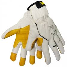 Kevlar Curtains Full Leather And Kevlar Truefit Handling Gloves