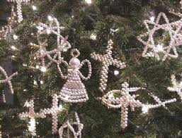 chrismons are handmade tree ornaments of various