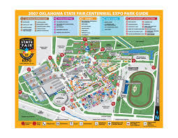 state fair map oklahoma state fair park map mappery