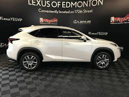 lexus nx white or black used 2017 lexus nx 200t 4 door sport utility in edmonton ab l13358
