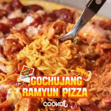 cookat u003cgochujang ramyun pizza u003e banzz on the way ramyun