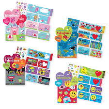 school valentines kids s day school value pack cards 128 cards