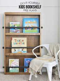 Furniture Plans Bookcase Free by Industrial Kids Bookshelf Free Plans Cherished Bliss