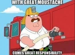 Guy With Mustache Meme - family guy meme moustache responsibility on bingememe