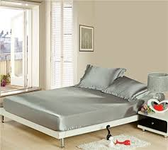 Lotus Bed Frame Lotus Bed Sheet Bedding Set Soft Synthetic Silk Satin With