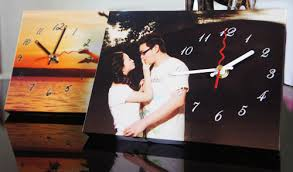 Personalized Picture Clocks Hourstyle Personalized Table Clock