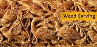 wood carvers wood carving bahadurgarh haryana india gaatha ग थ