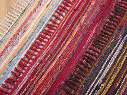 Tapis Salon Multicolore by Tapis Rectangulaire En Coton Tapis Design Multicolore Clair