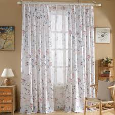 Blue And White Floral Curtains Blue Floral Curtains Pink Yellow Black Green Vintage