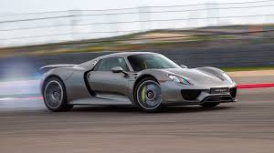 Porsche 918 Blue - porsche just produced its last 918 spyder hybrid supercar the verge
