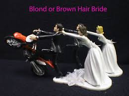 motorcycle wedding cake toppers motorcycle wedding cake topper w ktm duke track dirt groom